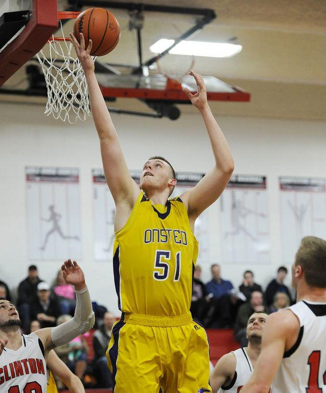 The state's top big man, Austin Davis led Onsted to an undefeated regular season.