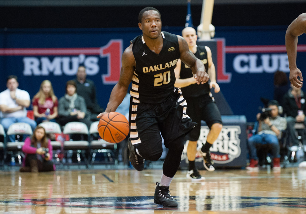 Kay Felder left Oakland a year early and is a projected late-first or a second-round pick.