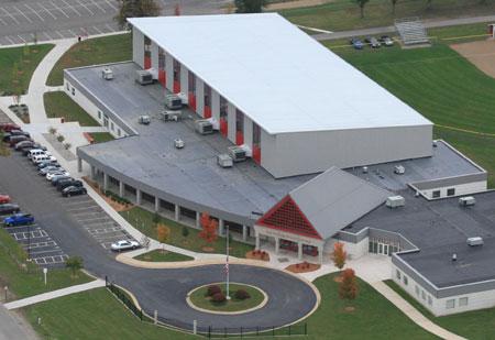 Olivet College's Cutler Events Center.