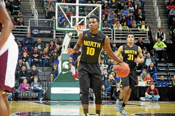 The big stage doesn't faze Amauri Hardy, the Family guard who is a veteran of the Class A state finals and the Nike EYBL.