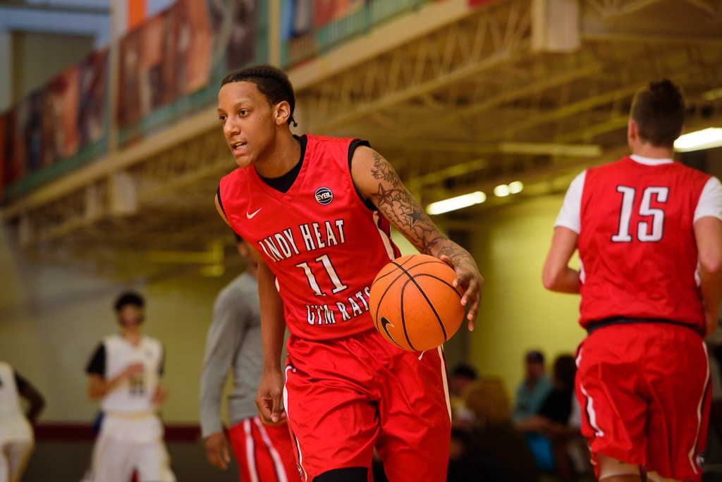Grand Rapids Christian senior James Beck is one of three Michigan high school players for Spiece Indy Heat.