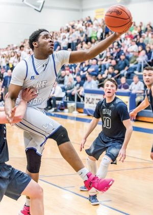 Lake Fenton senior Jalen Miller is one of the state's toughest matchups in Class B.