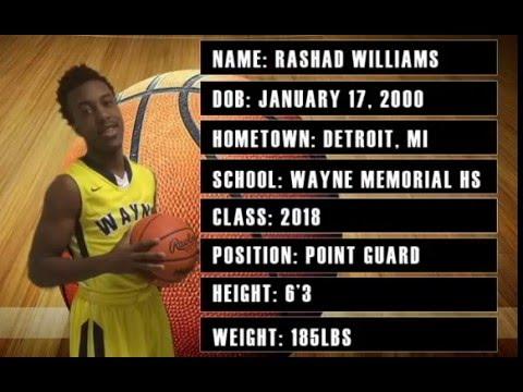 Wayne junior Rashad Williams already has two Horizon offers.